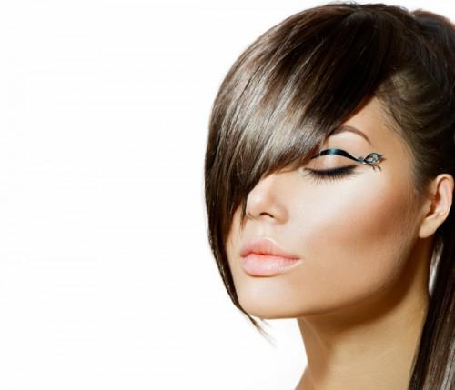 okrągła twarz, fryzury, kobieta, kształt twarzy