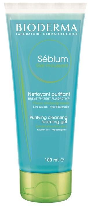 Sebium Gel Moussaunt, antybakteryjny żel do mycia twarzy, Bioderma, 12,90 zł/100 ml