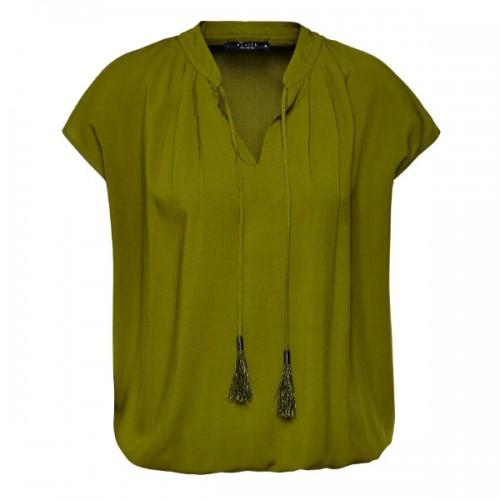Bluzka z frędzlami, Mohito, cena: 79,99 zł.