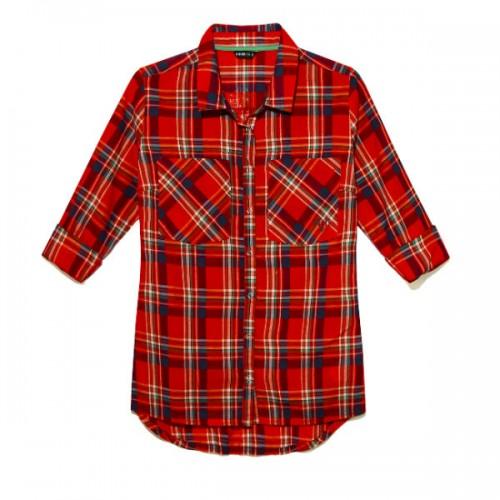 Czerwona koszula w kratę, House, cena: 79,99 zł.