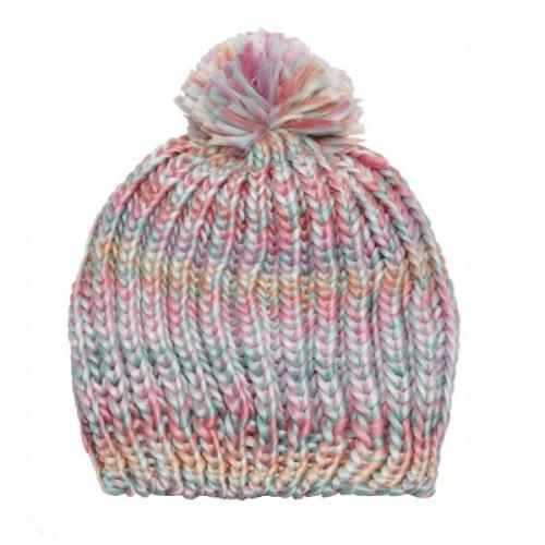 Kolorowa czapka z pomponem, Sinsay, cena: 24,99 zł.