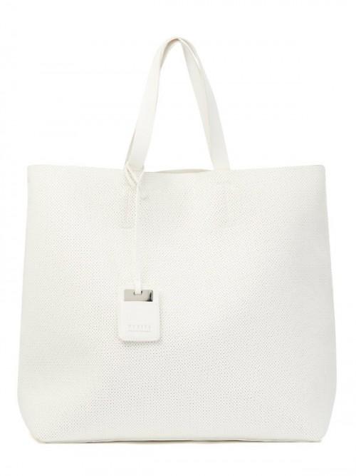 Duża torba dla wielbicielek białego koloru, Mohito, cena: 99,99 zł.