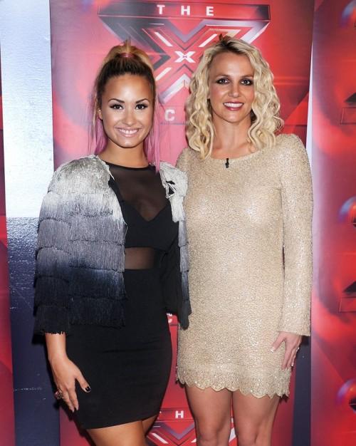 Britney Spears i Demi Lovato