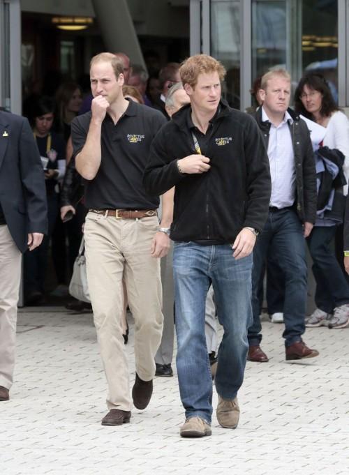 Książe Harry z bratem księciem Williamem