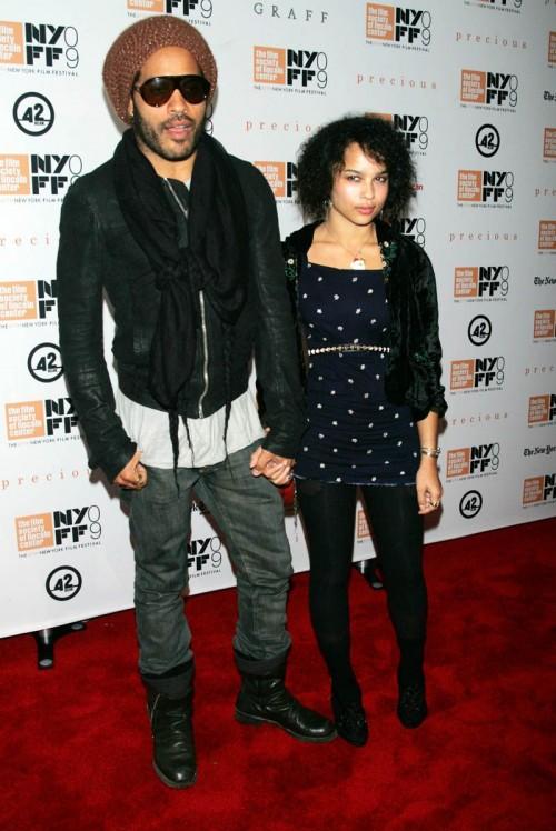 Lenny Kravitz z córką Zoe Kravitz