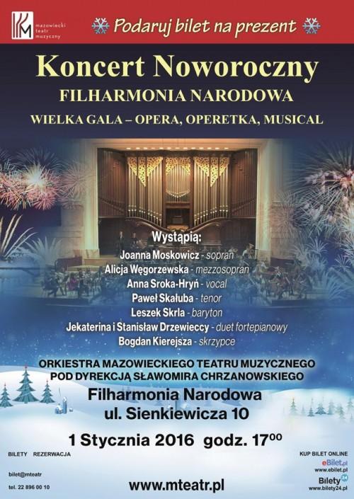 Koncert Noworoczny w Filharmonii Narodowej