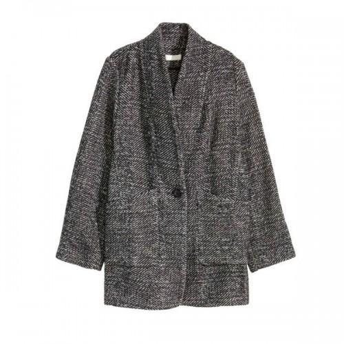 Szary płaszcz H&M, cena