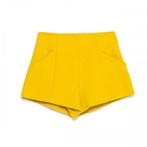Żółte szorty Zara, cena