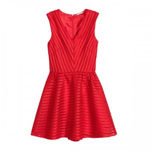 Czerwona sukienka H&M, cena
