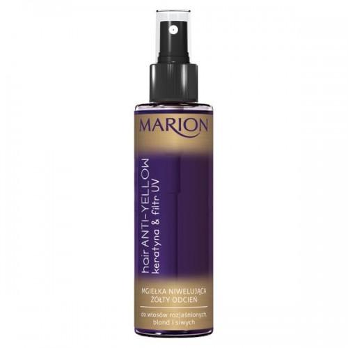 Spray niwelujący żółte odcienie na włosach Marion, cena 8 zł