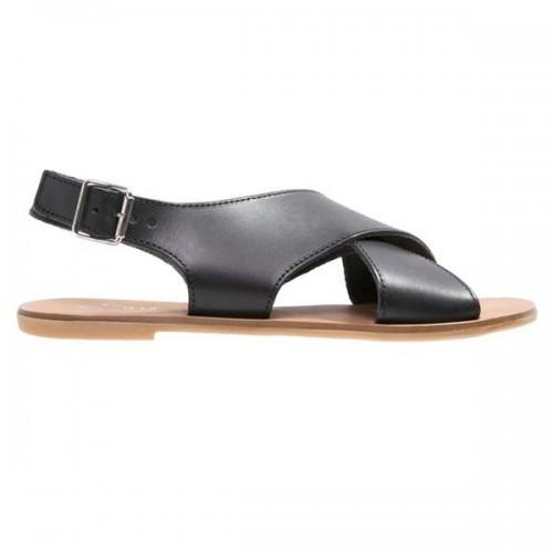 Czarne sandały Zign, cena