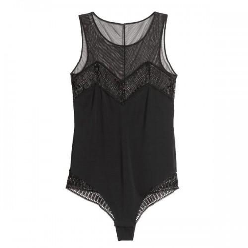 Czarne body H&M, cena