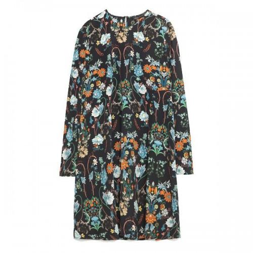 Sukienka w kwiaty Zara, cena