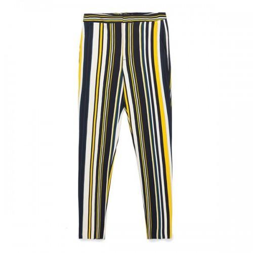 Spodnie w paski Zara, cena