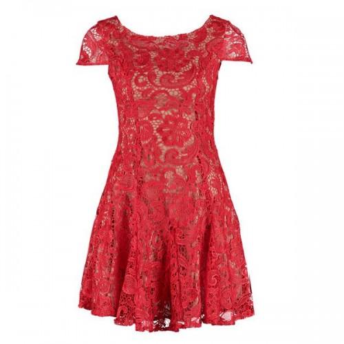 Czerwona sukienka Glamorous, cena
