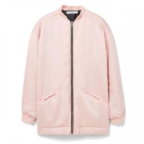 Różowa kurtka Mango, cena