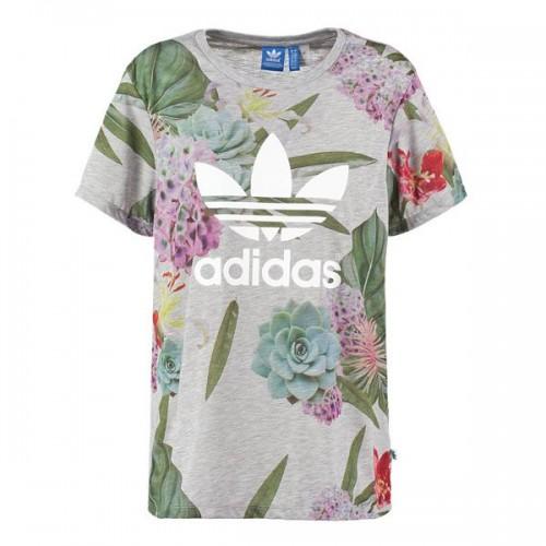 Wzorzysty t-shirt adidas Originals, cena