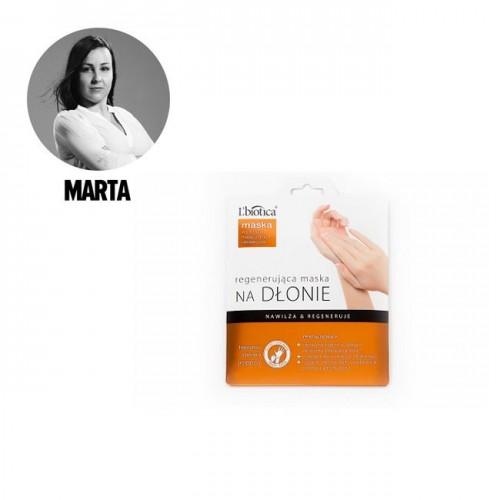 Regenerująca maska na dlonie, L'biotica, must-have Polki.pl