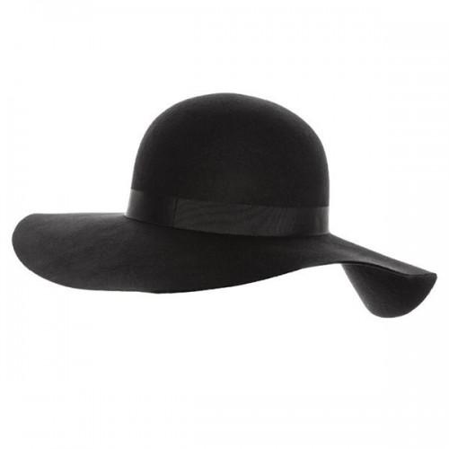 Czarny kapelusz Topshop, cena