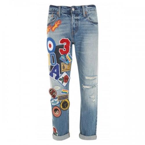 Spodnie dżinsowe z naszywkami Levi's, cena