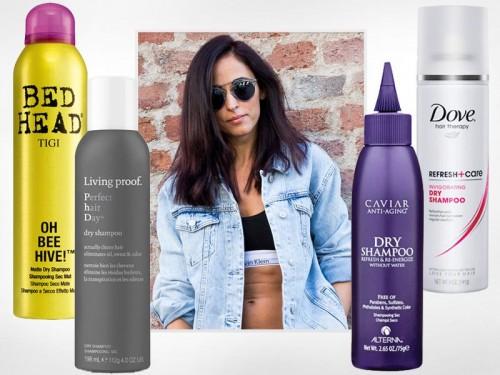 Suchy szampon - najlepsze kosmetyki