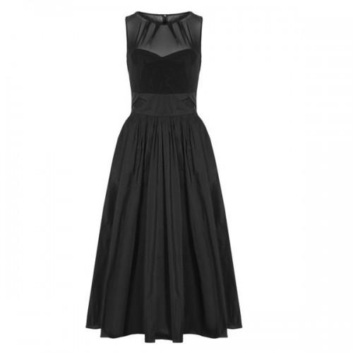 Czarna sukienka Swing, cena