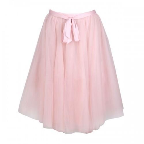 Pudrowo różowa spódnica Mohito, cena