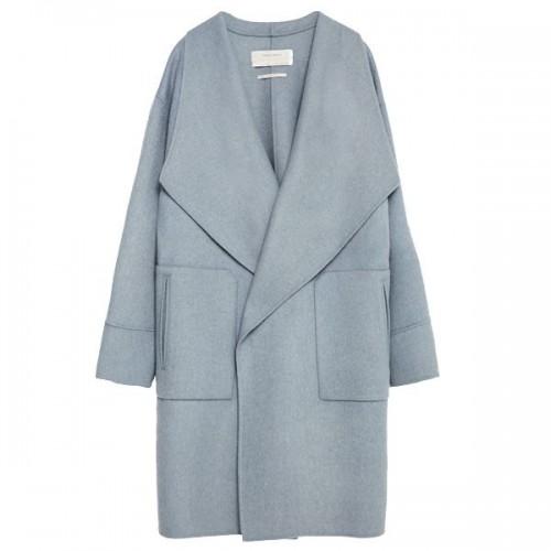 Błękitny płaszcz Zara, cena