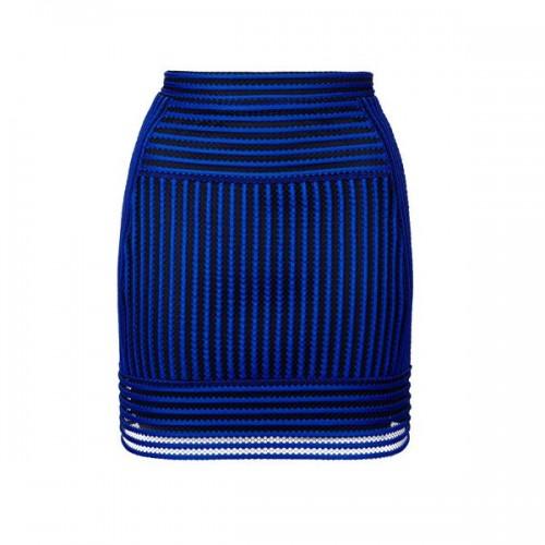 Niebieska spódnica Topshop, cena