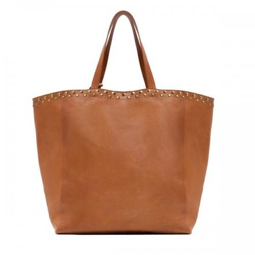 Brązowa torba Zara, cena
