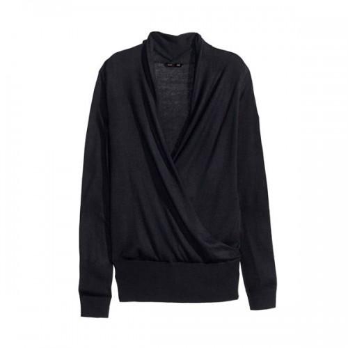 Czarny sweter H&M, cena
