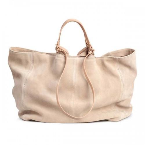 Zamszowa torba H&M, cena