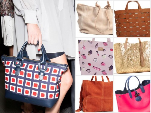 Pojemne torebki na wiosnę 2016