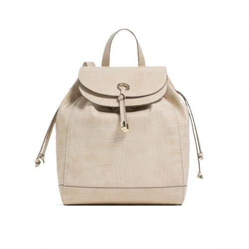 Beżowy plecak Zara, cena