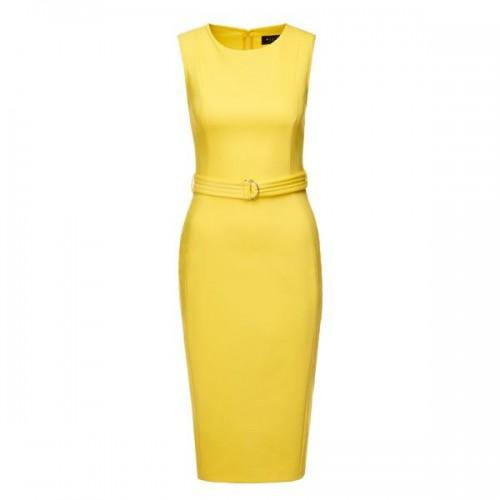 Żółta sukienka Mohito, cena