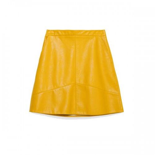 Żółta spódnica Zara, cena