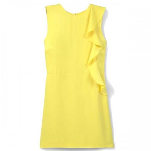 Żołta sukienka Mango, cena
