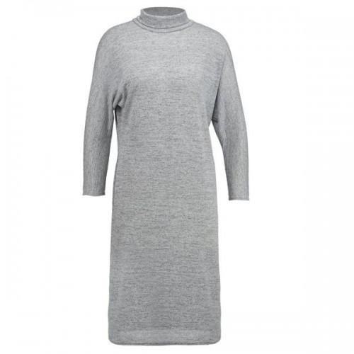 Szara sukienka z długimi rękawami New Look, cena