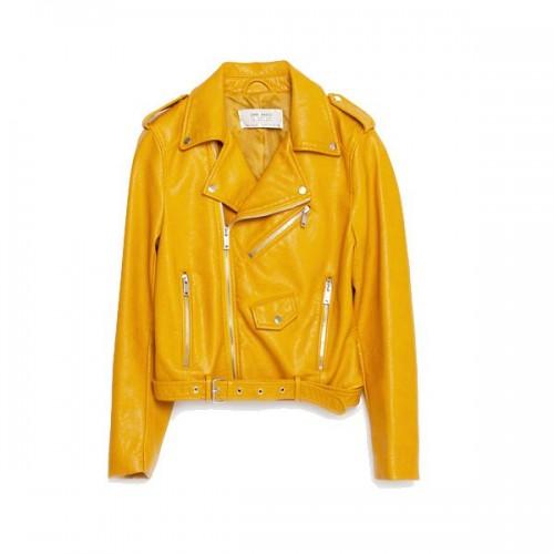 Żółta ramoneska Zara, cena