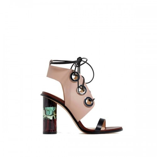 Sandały na słupku Zara, cena