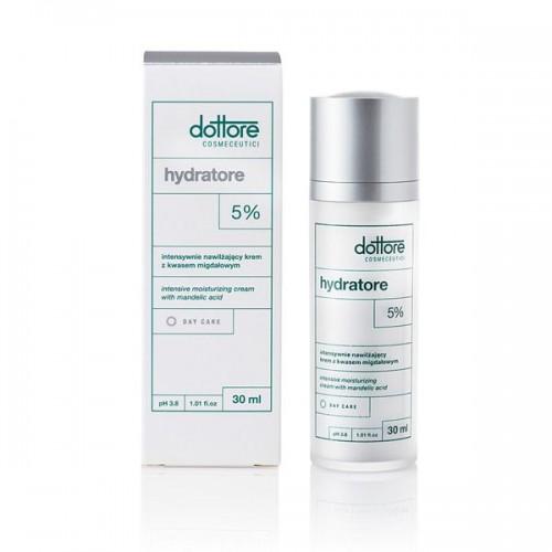 Intensywnie nawilżający krem z 5% kwasem migdałowym Hydratore Dottore, cena