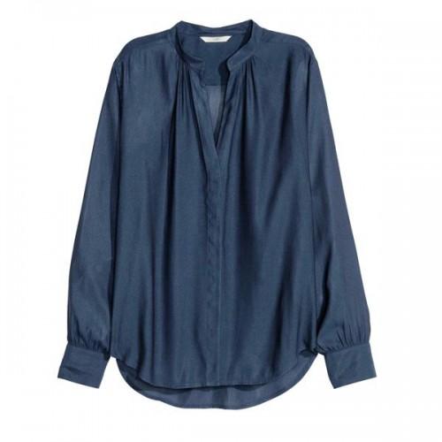 Granatowa bluzka H&M, cena