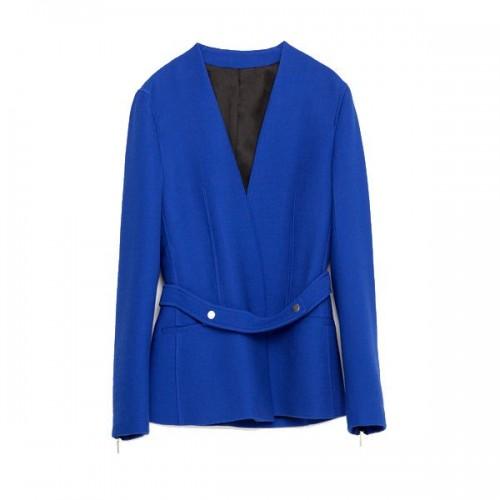 Niebieska marynarka Zara, cena