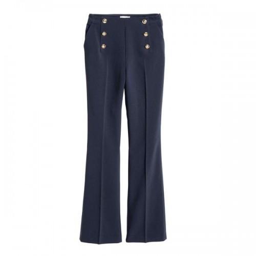 hm139,90dd.jpgGranatowe spodnie H&M, cena