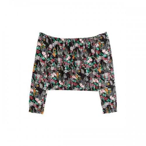 Bluzka z odkrytymi ramionami H&M, cena