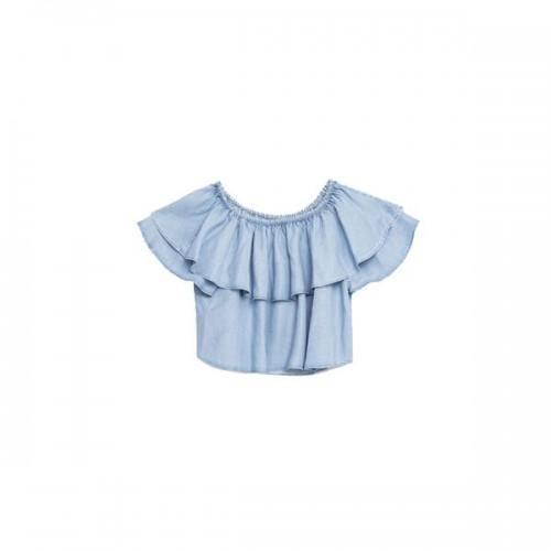 Bluzka z odkrytymi ramionami Zara, cena