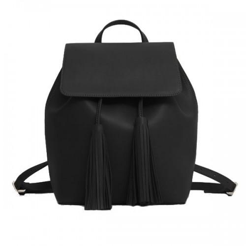 Czarny plecak Mango, cena