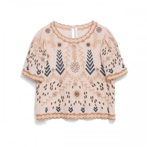 Wzorzysta bluzka Zara, cena