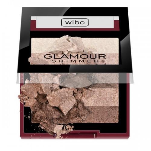 Wypiekany rozświetlacz do twarzy Glamour Shimmer Wibo, cena