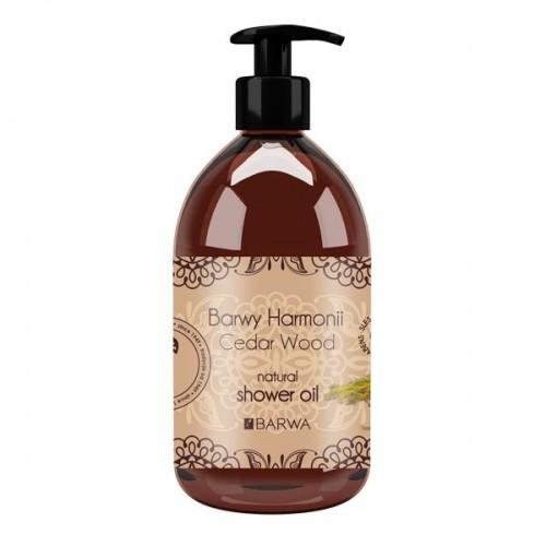 Cedrowy olejek pod prysznic i do kąpieli Barwa, cena